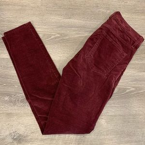 Gap   Stretch Skinny Corduordy Pants - Size 26